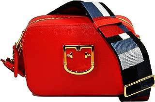 Brava Ladies One Size Red Kiss Leather Crossbody Bag 1007893