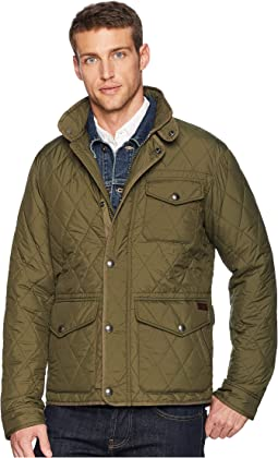 Quilted Nylon Dartmouth Jacket