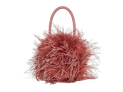 Loeffler Randall Zadie Feather Circle Tote (Rose) Tote Handbags