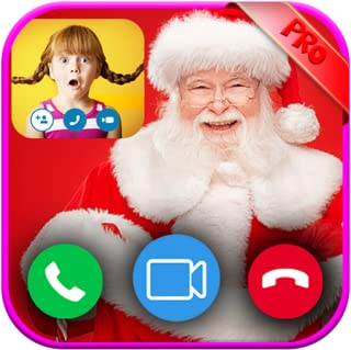 Instant Video Live Call From Santa Claus And Fake Taxt Message - PRANK 2020