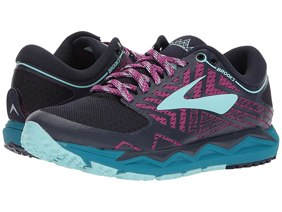 Brooks Caldera 2 (Navy/Plum/Ice Blue) Women