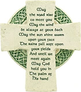 Roman Petite Standing Cross Celtic Irish Blessing