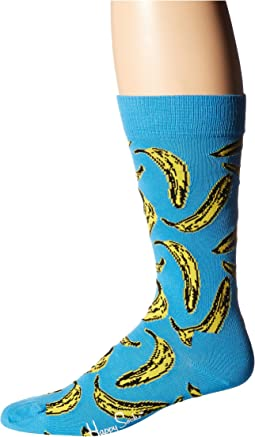 Andy Warhol Banana Sock