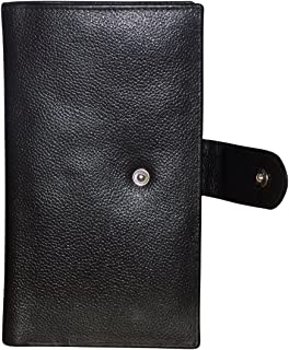 Style98 Black Passport Wallet