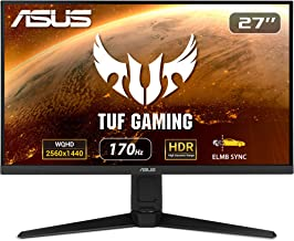 "ASUS TUF Gaming VG27AQL1A 27"" HDR Monitor, 1440P WQHD (2560 x 1440), 170Hz (Supports 144Hz), IPS, 1ms, G-SYNC Compatible, ..."