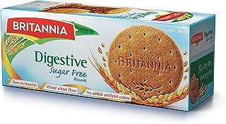 Britannia Digestive Sugar Free Biscuits, 350 gm