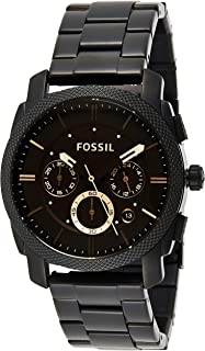 Fossil Mens Quartz Watch, Chronograph Display and Stainless Steel Strap FS4682IE