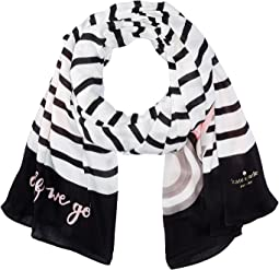 Kate Spade New York - Convertible Oblong Scarf