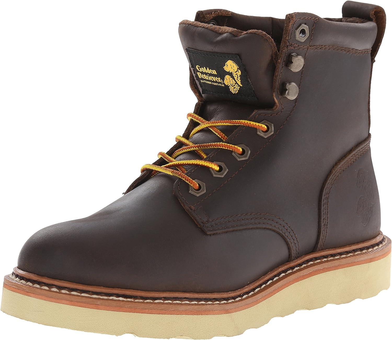 golden Retriever Men's 2902 Wedge Boot