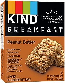 KIND Breakfast Bar Peanut Butter - 4 CT