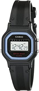 Casio Ladies Digital Dial Black Resin Band Watch [LA-11WB-1]