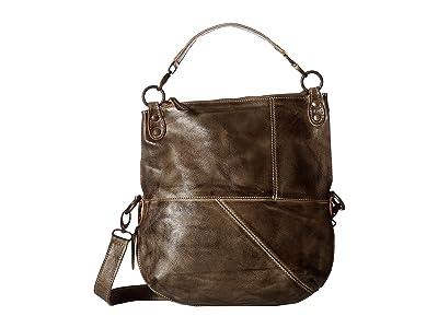 Bed Stu Tahiti (Taupe Rustic) Cross Body Handbags