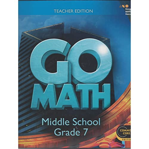 Go Math Teacher Edition Grade 7 2014