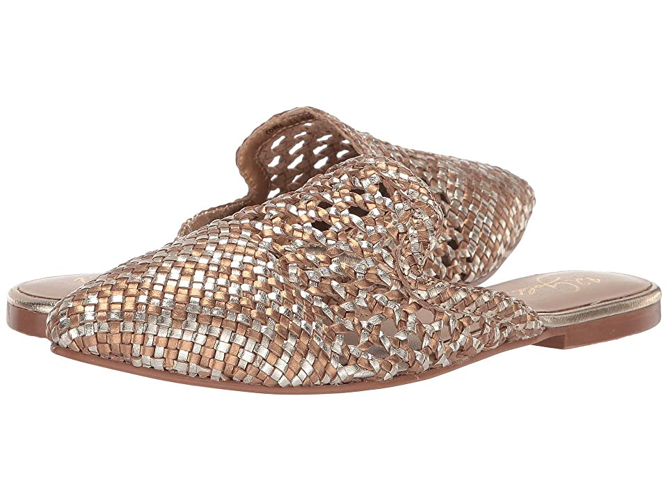 Image of 42 GOLD Corra (Gold/Bronze Leather) Women's Flat Shoes