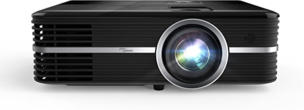Optoma UHD51A True 4K UHD Smart Projector | Bright 2,400 Lumens | HDR10 | Works with Alexa and Google Assistant | Voice Command to Activate Projector and USB Media Features