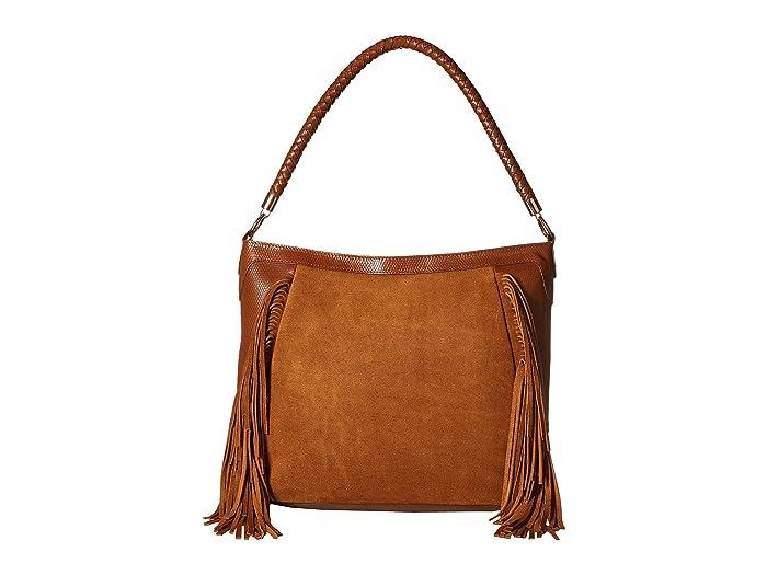 Scully Brianne Fringe Purse (Brown) Handbags -  B67-HB