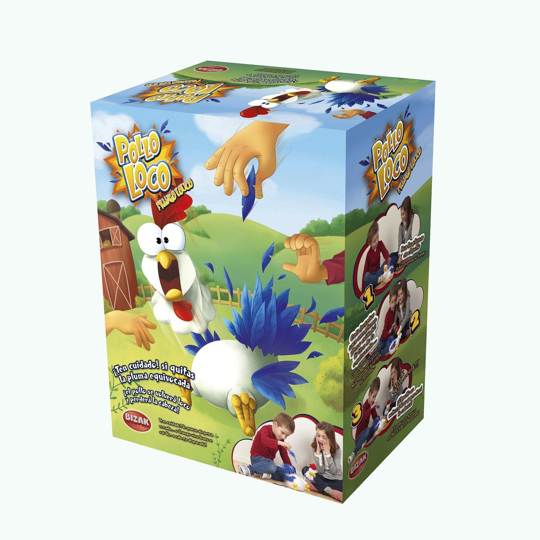 Bizak- Pollo Loco, Juego de Mesa (35001916): Amazon.es: Juguetes y juegos