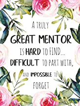 a great mentor is hard to find