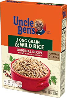 UNCLE BEN'S Flavored Grains: Long Grain & Wild (12pk)