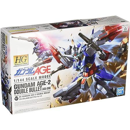 HG 機動戦士ガンダムAGE ガンダムAGE-2 ダブルバレット 1/144スケール 色分け済みプラモデル