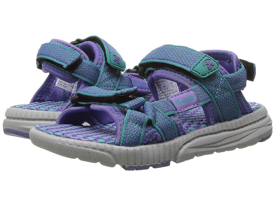 Kamik Kids Match (Little Kid/Big Kid) (Teal) Girls Shoes