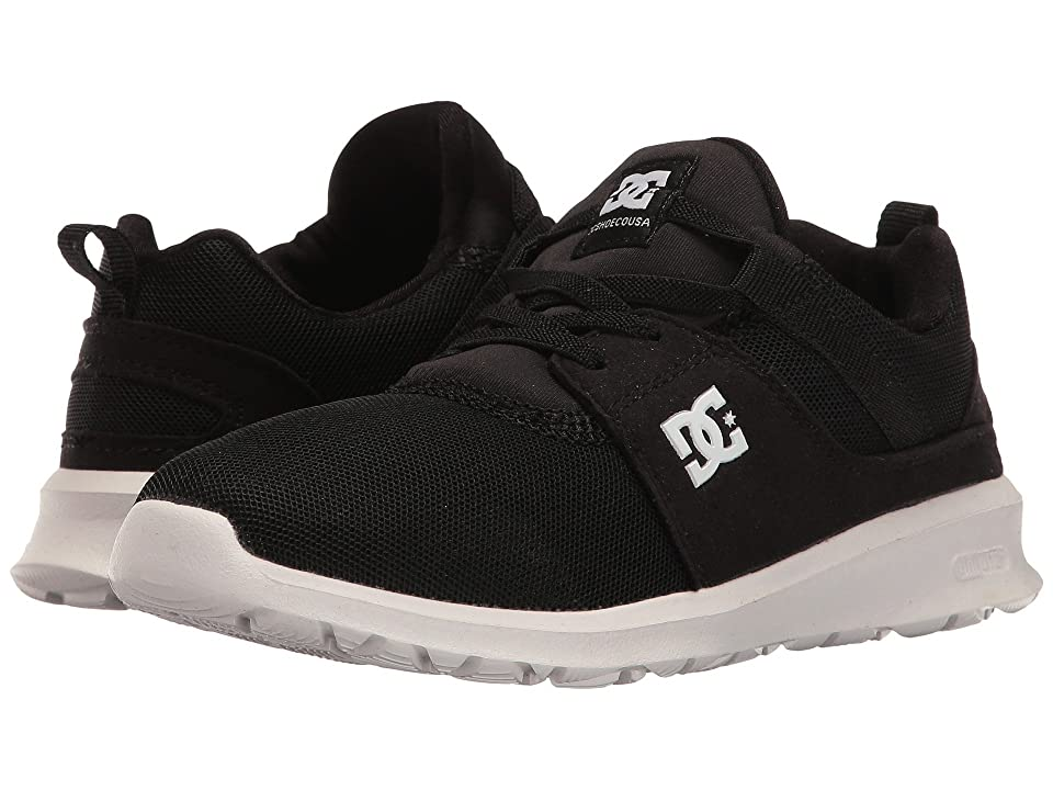 DC Kids Heathrow (Little Kid/Big Kid) (Black/White) Boys Shoes