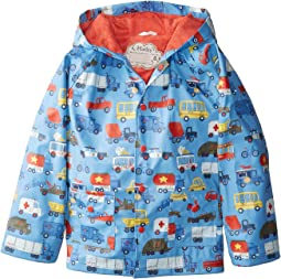 Hatley Kids Rush Hour Classic Raincoat (Toddler/Little Kids/Big Kids)