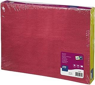 Tork 474503 Sets de table jetables Advanced / un pli - rectangulaire - 42cm x 31cm - 500 items - Bordeaux