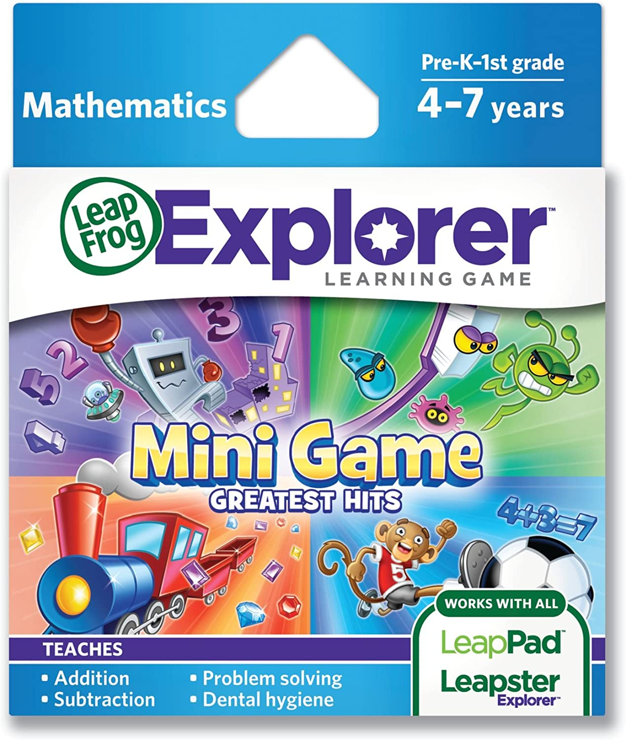discount LeapFrog Mini sale Game Greatest Hits works Learning LeapP with