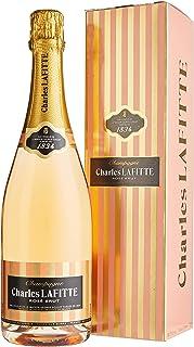 Champagne Charles Lafitte 1834 Brut Rosé mit Geschenkverpackung 1 x 0.75 l