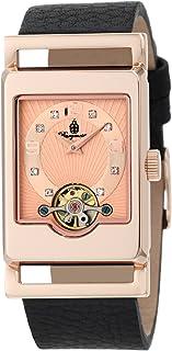 Burgmeister 伯格麦斯特 德国品牌 机械手表 女士腕表 时尚镶钻开芯 BM510-362