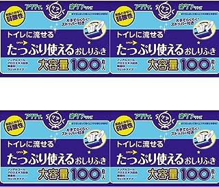 【まとめ買い】アクティ たっぷり使えるおしりふき 100枚【×4個】