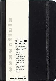 Essentials Dot Matrix Notebook, A5 size