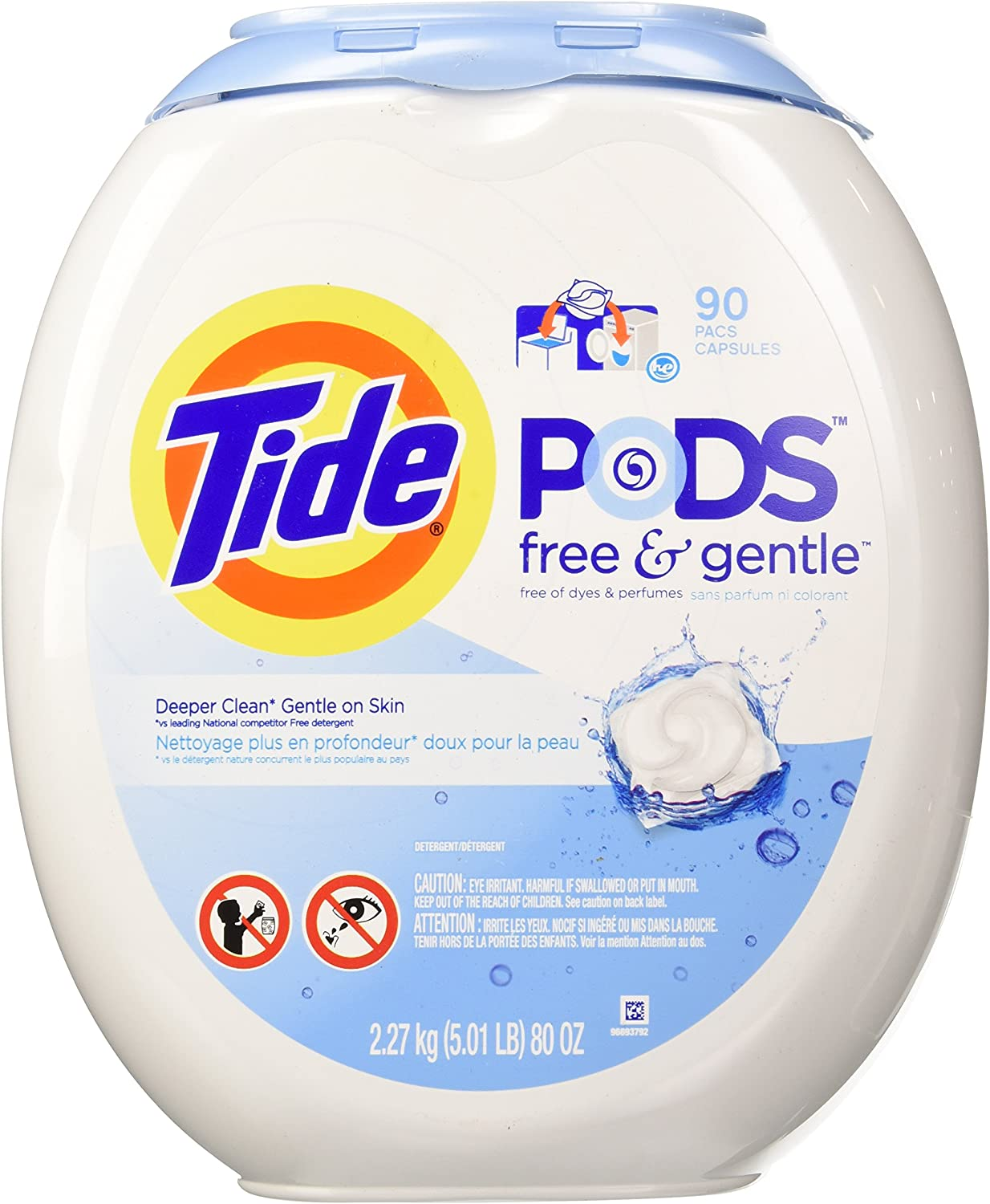Tide Long-awaited Free Gentle Laundry High quality 90 ct. Pod