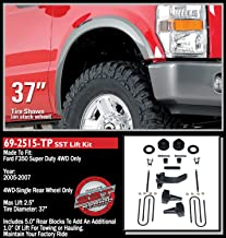 ReadyLift 69-2515TP 2.5''F/3''R Lift Kit with 5'' Rear Blocks (Ford Super Duty F250/F350/F450 4WD, 2-Pc Drive Shaft Only, 2005-2007)