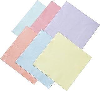 Talking Tables PASTEL-NAPKIN-MUL Botanical Santa Pocket Tissues, Papier, Multicolores, 2 x 16,5 x 16,5 cm