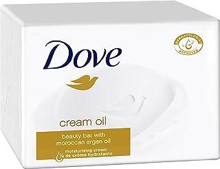 Dove Lavaggio Pezzi Beauty Cream Bar sapone Cream Oil, confezione da (6 X 100 G)