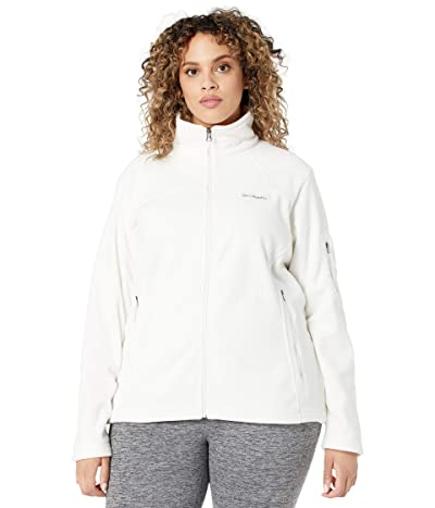 Columbia Plus Size Fast Trektm II Jacket (Sea Salt) Women
