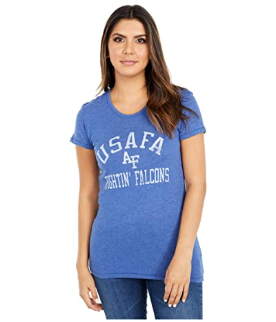 Champion College Air Force Falcons Keepsake Tee (Vintage Royal) Women
