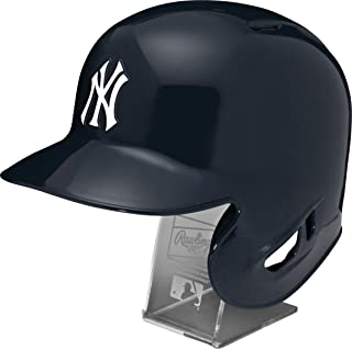 Rawlings MLB Replica Batting Helmet with Engraved Stand