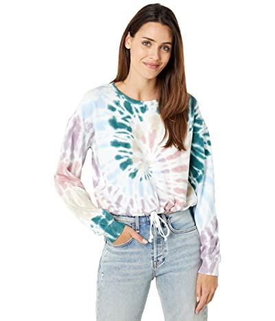 Lucky Brand Cool For Summer Cropped Crew