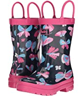 Hatley Kids - Pretty Butterflies Rain Boots (Toddler/Little Kid)