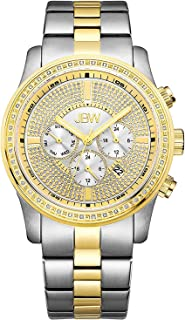 JBW Watch for Men Studded with 42 diamonds, Stainless Steel Band - J6337A