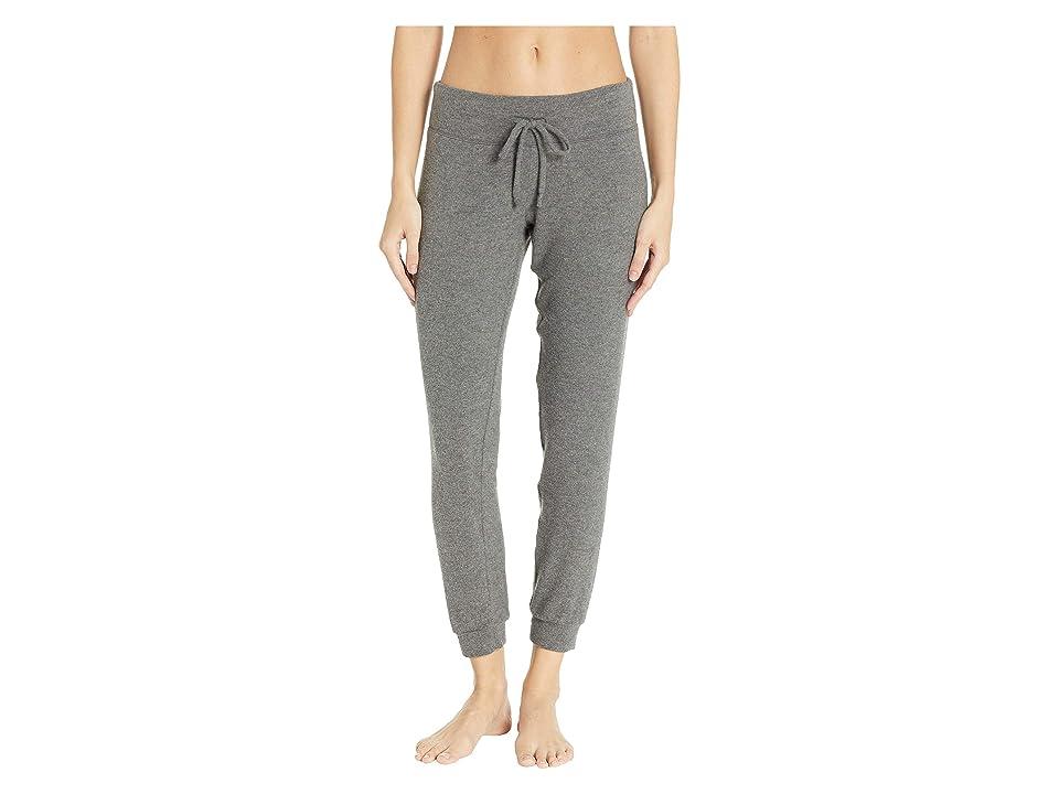 Beyond Yoga Lounge Around Midi Joggers (Mid-Heather Gray) Women