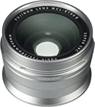 Fujifilm Fujinon Wide Conversion Lens for X100 Series Camera, Silver (WCL-X100 S II)