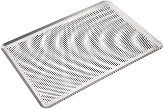 Erreke - Plaque de Cuisson Four, Épaisseur de Qualité Professionnelle Indéformable 2mm, Plaque à Pâtisserie 46x33 cm, Fabr...