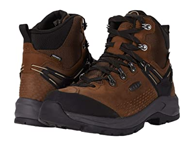 KEEN Wild Sky Mid WP (Dark Earth/Black) Men