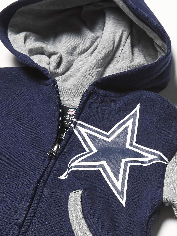 Dallas Cowboys Boys Stadium Toddler Full Zip Fleece Hoodie