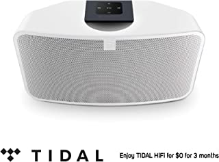 Bluesound Pulse Mini 2i Compact Wireless Multi-Room Smart Speaker with Bluetooth -White - Tidal HiFi for $0 for 3 Months