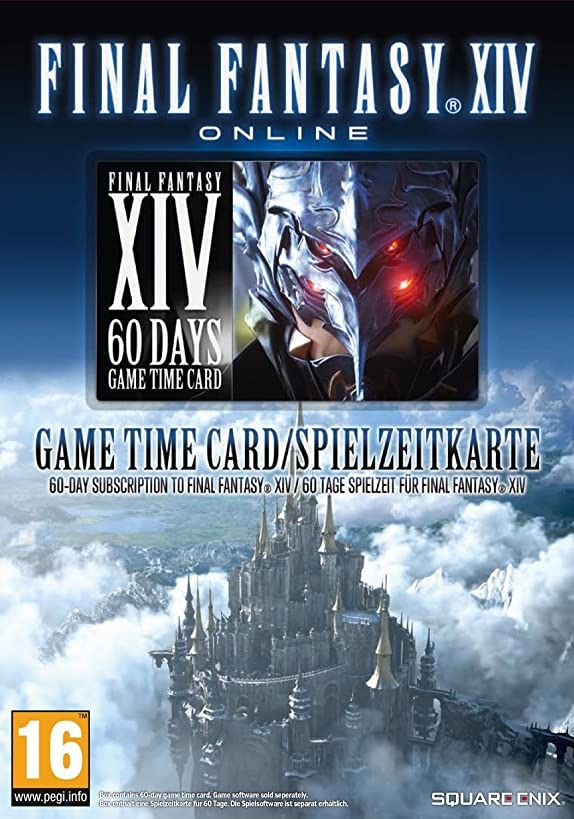 Final Fantasy XIV - A Realm Reborn 60 Day Time Card (PC) (UK) (UK Account required for online content)